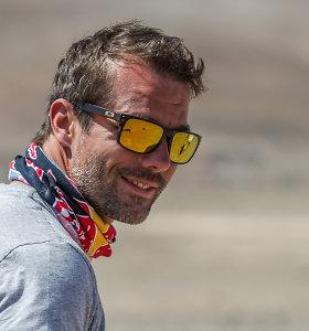Misterio WRC Sebastieno Loebo šansai Dakare dideli, bet ne viskas priklauso nuo jo