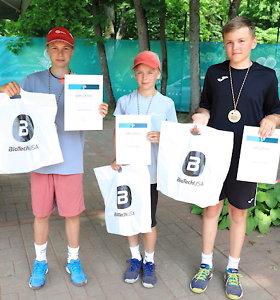 Vilniuje pasibaigė Lietuvos dvylikamečių teniso čempionatas