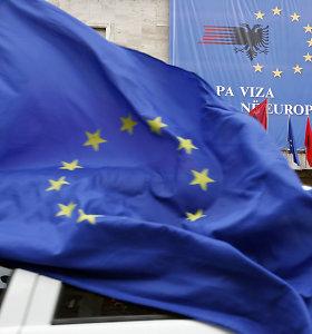 ES šalys pritarė narystės deryboms su Skopje, Tirana