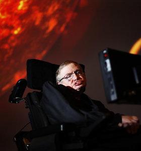 S.Hawkingas prieš dvi savaites užbaigė turbūt svarbiausią savo gyvenimo darbą, kuris gali leisti atrasti kitas visatas