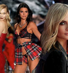 Turtingiausios podiumų deivės: šie modeliai uždirba daugiausiai pasaulyje