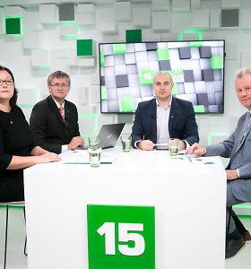 15min diskusija: norint traukti 143 tūkst. žmonių iš nedarbo spąstų reikia geresnių mokymų