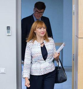 Premjeras: švietimo ministrė šiuo metu gali toliau eiti pareigas, lemiama bus VTEK išvada