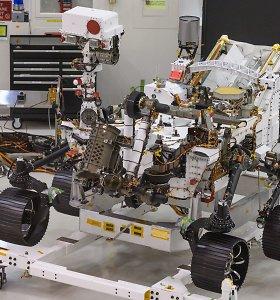 NASA marsaeigis ieškos gyvybės pėdsakų ir padės pasiruošti žmonių skrydžiams į Marsą