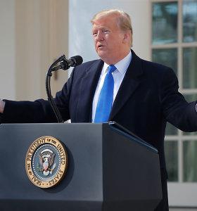 """D.Trumpas: kriptovaliuta """"nėra pinigai"""""""