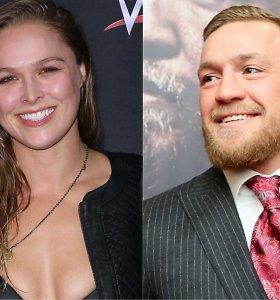 C.McGregoras išsakė, ką galvoja apie R.Rousey sprendimą karjerą tęsti amerikietiškose imtynėse