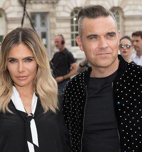 Robbie Williamsas su žmona sulaukė trečio vaiko: kūdikį slapta pagimdė surogatinė motina