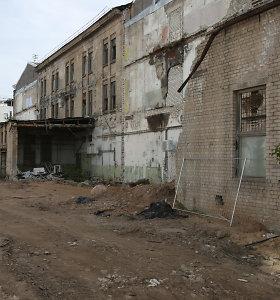 """Buvusios """"Grąžtų"""" gamyklos patalpos kursto nesantaiką – konfliktai pasiekė teismus"""