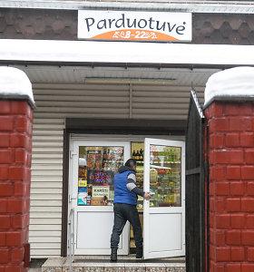 Ketvirtadalis mažmeninės prekybos parduotuvių veikia Vilniaus regione