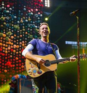 """""""Coldplay"""" išleis filmą apie du dešimtmečius trunkančią britų grupės istoriją"""