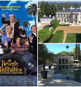 """Parduodamas filmo """"Kaimiečiai Beverlyje"""" namas: kaina nukrito iki 140 mln. eurų"""