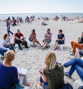 Jūros šventė pristato: romantiškas pasimatymas ant jūros kranto su Čiurlionio muzika