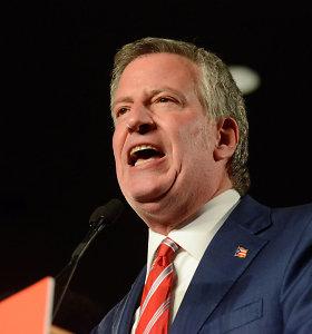 D.Trumpas kaltina Niujorko merą nuplagijavus jo šūkį