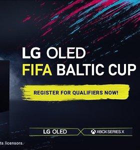 """Sportininkai, sukluskite: registracijai į """"LG OLED FIFA Baltic Cup eSports"""" turnyrą liko kelios dienos"""