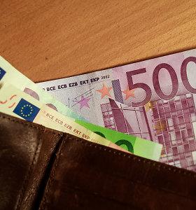 Įžūli vagystė: svečias išsiėmė iš moters piniginės 500 eurų