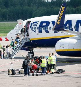 """""""Ryanair"""" pradeda skrydžius iš Kauno į Riminį ir Burgasą"""