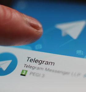 """Susirašinėjimo platforma """"Telegram"""" pranešė tapusi didelės kibernetinės atakos taikiniu"""