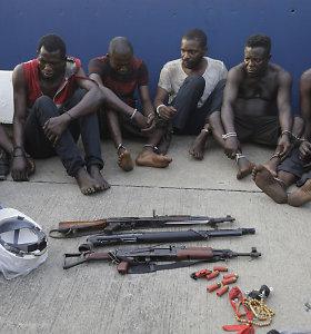 Piratai prie Nigerijos krantų pagrobė 12 Šveicarijos laivo įgulos narių