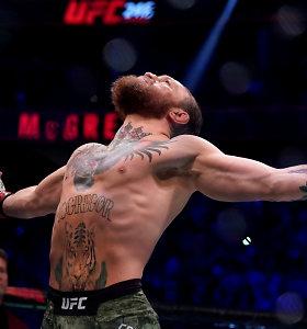 Conoro McGregoro šou: kaip uždirbti 80 milijonų per 40 sekundžių?