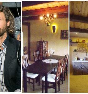 """Aukas tėvų namui renkantis L.Karalius pasidalijo nuotraukomis iš vidaus: """"Sudegusio namo prisiminimai"""""""