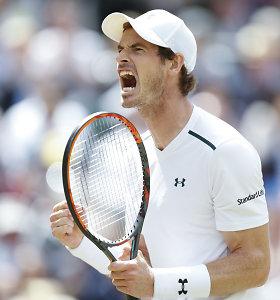 "Andy Murray dalyvaus ""US Open"" turnyre"
