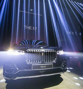 Pamatykite: BMW automobilių pristatymas Vilniuje virto prabangia meno paroda