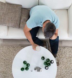Kas išduoda, kad vartojate per daug alkoholio?