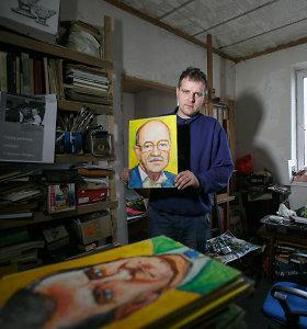 Lietuvą atkūrusių žmonių portretus nutapiusį Gytautą Balkevičių įskaudino signatarės žodžiai
