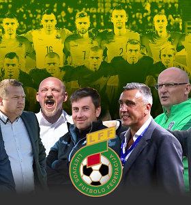 Kas kitas? Lietuvos futbolo rinktinės gaivintojų paveikslai, galimybės, prognozės