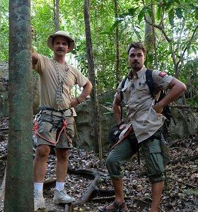 Audriaus Bružo nuotykiai Madagaskare: prisiminė didžiausias vaikystės traumas