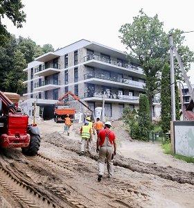 Karas dėl statybų Vilniaus Neries pakrantėje baigėsi be teismo: pažeidimai pašalinti