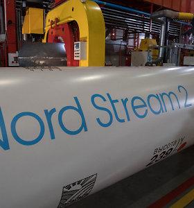 """""""Gazprom"""" įmonė prašo ETT panaikinti """"diskriminacines priemones"""" """"Nord Stream 2"""" projektui"""
