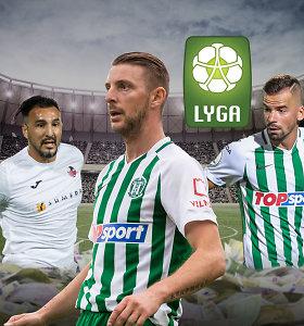 Lietuvos futbolo TOP10: brangiausių žaidėjų dešimtuke atakuoja legionieriai