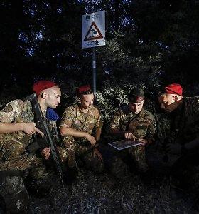 Italija ketina prisijungti prie Europos kariuomenių koalicijos