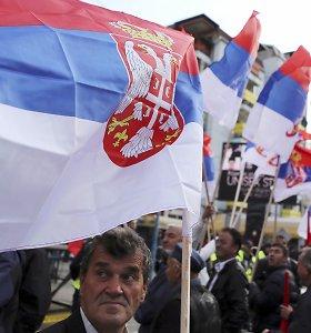 Serbijos ministras: sankcijų Rusijai neįvedinėsime