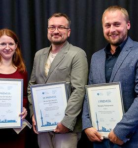 15min žurnalistai apdovanoti už tris žurnalistinius tyrimus