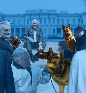 Lietuvos prezidentų ir kandidatų šunys: nuo juokingų nuotykių iki amžinųjų medžioklės plotų