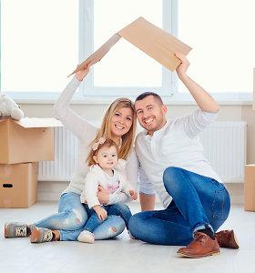 Jaunoms šeimoms – palankesnės sąlygos įsigyti būstą regionuose