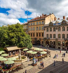 """""""Ryanair"""" paskelbė naujus skrydžius tarp Lvovo ir Vilniaus"""