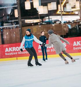 """Margarita Drobiazko ir Povilas Vanagas ruošiasi ledo šou """"Čempionai"""""""