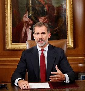 Ispanijos karalius atsiribojo nuo naujo skandalo sūkuryje atsidūrusio tėvo