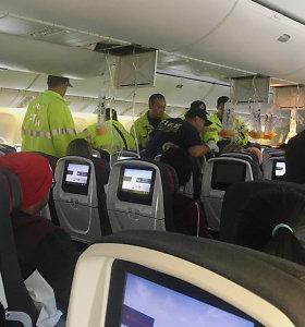 Lėktuve virš Ramiojo vandenyno per turbulenciją sužeisti 37 žmonės
