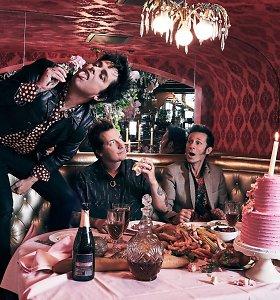 """Pankroko veteranai """"Green Day"""" grįžo į didžiąją muzikos sceną: naują albumą kūrė ketverius metus"""