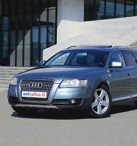 """Naudotas """"Audi A6 Allroad"""" – ištikimas pagalbininkas su keliomis sąlygomis"""