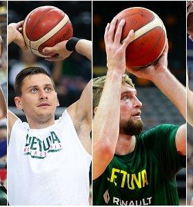 Lietuvos krepšinio rinktinės unikalus ginklas – kairioji ranka