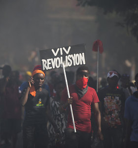 Haityje per protestus prieš korupciją žuvo 6, sužeisti dar 5 žmonės