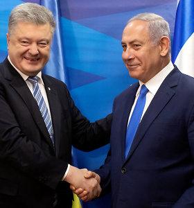 Ukraina ir Izraelis pasirašė laisvosios prekybos sutartį