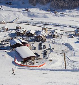 Populiarus slidinėjimo kurortas – Livinjas Italijoje