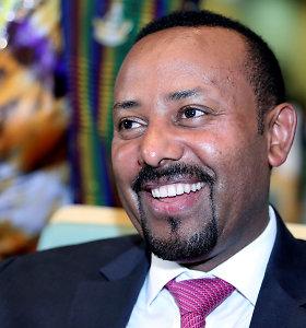 Etiopijos premjeras atsiimdamas Nobelio taikos premiją ragina vienytis prieš neapykantą