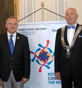"""""""Rotary"""" apygardos valdytoju tapo Arūnas Burkšas"""